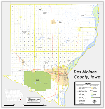 Maps for Download | Des Moines County, IA - Official Website