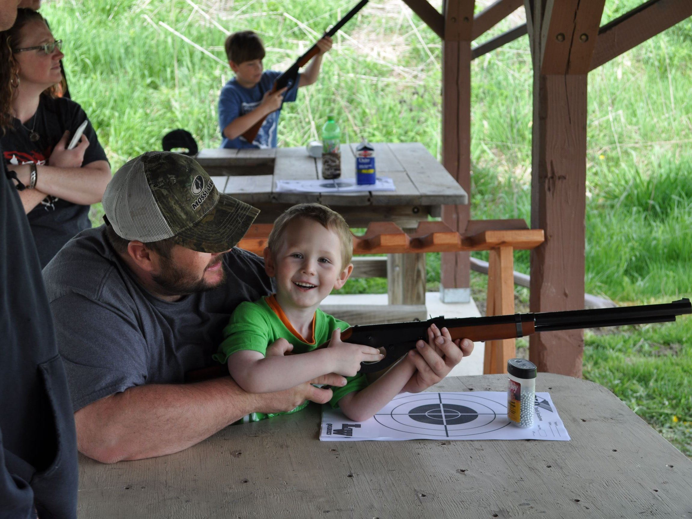 Youth BB Gun Shooting