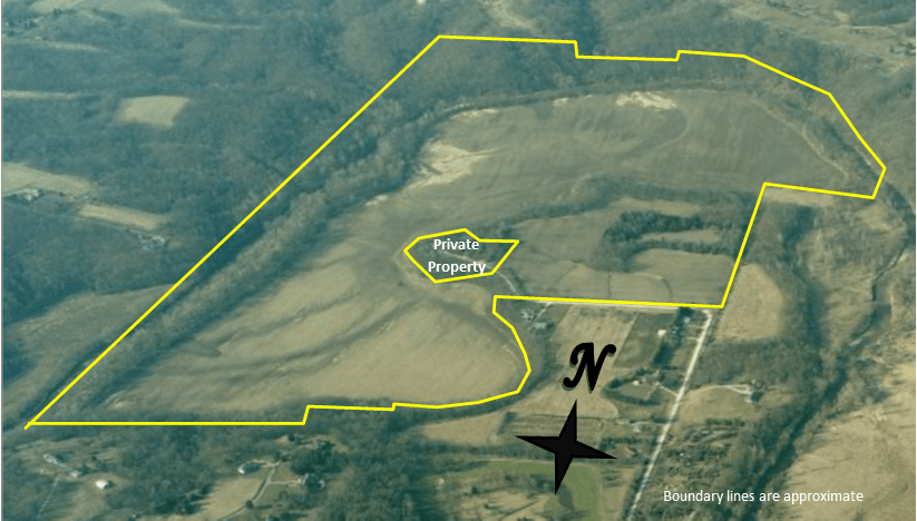 Leopold Recreation Area Pictometry Image