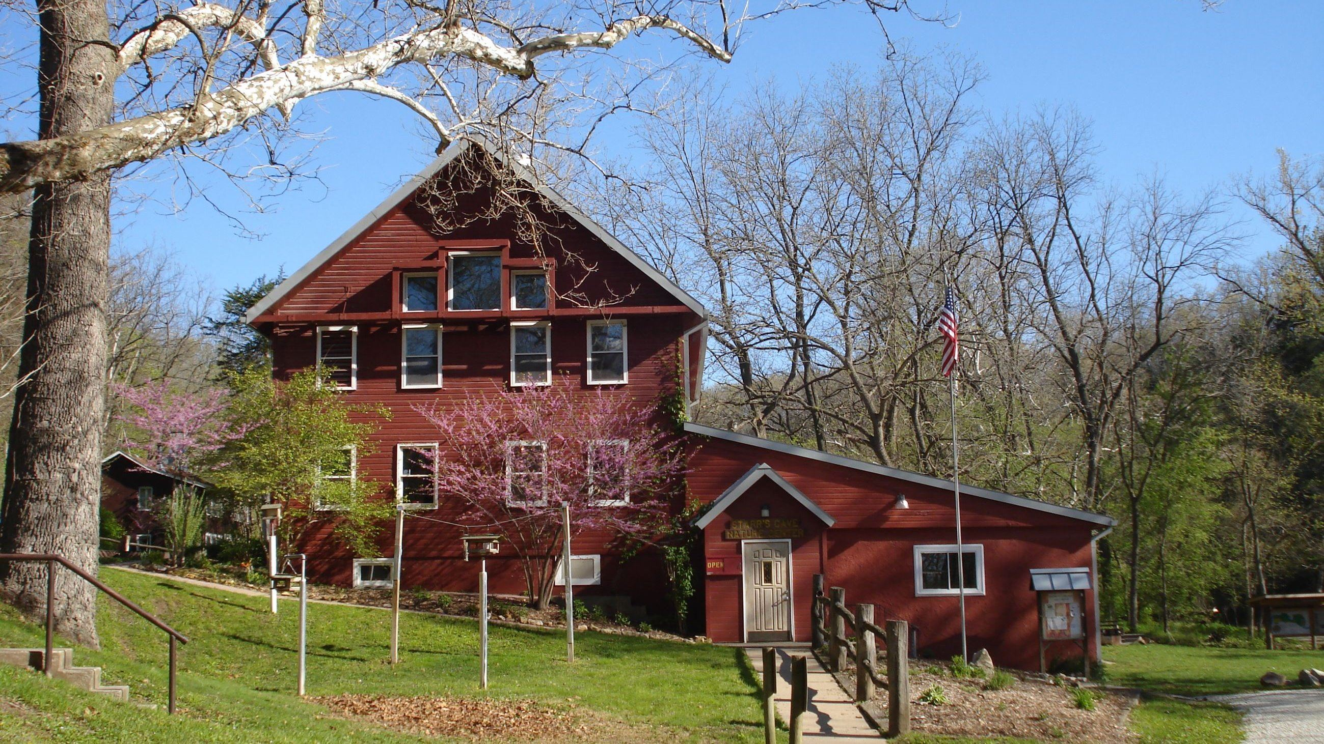 Nature Center in Spring