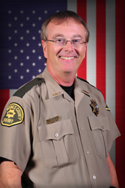 Mike Johnstone, Des Moines County Sheriff