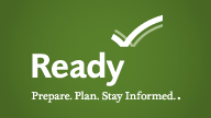 This leads to the FEMA site Ready.gov and is full of a lot of great information about personal and family preparedness.  Don't forget to make a kit for your pets as well!
