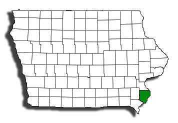 Des Moines County Map