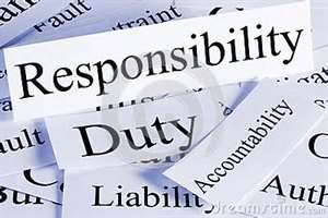 Duties and Responsibilites