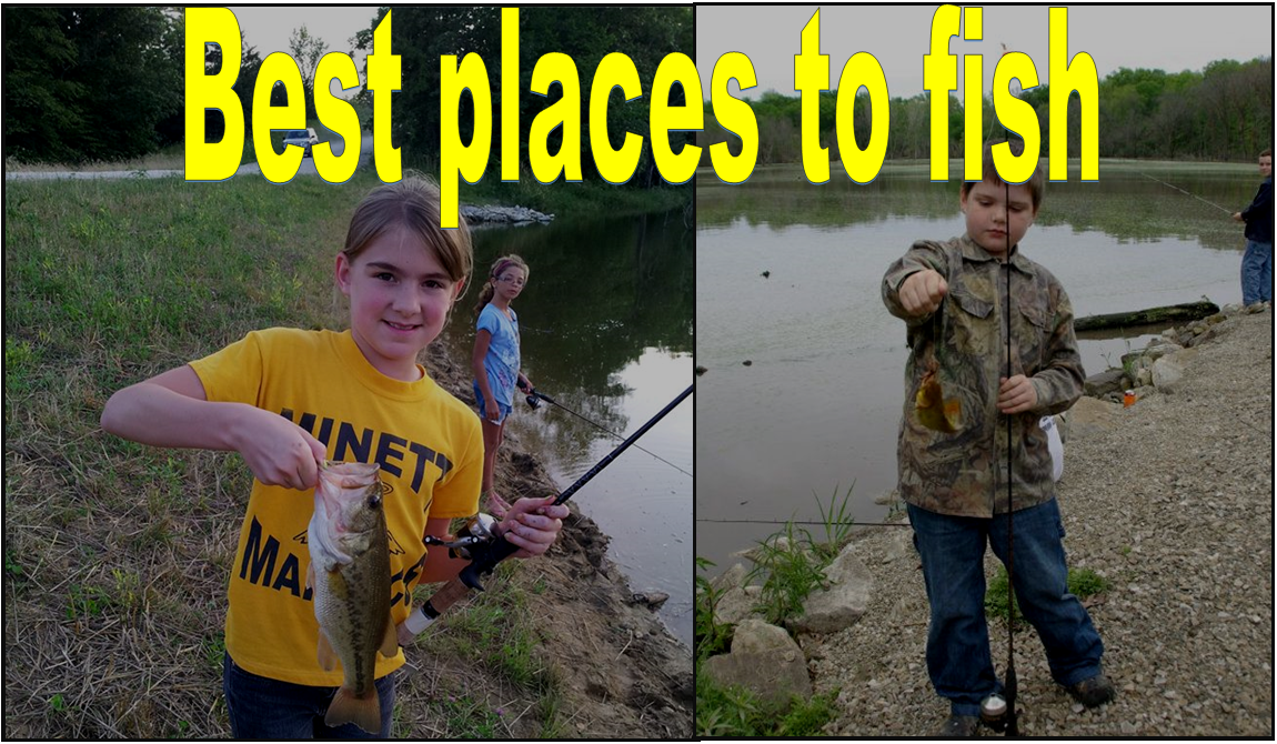 Best places to fish