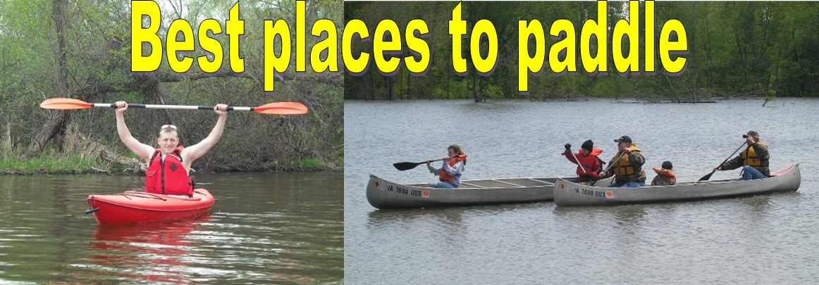 Best places to paddle